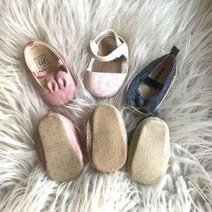Bundle of baby shoes! Baby GAP and Old Navy